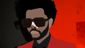 The Weeknd XO After Hours Album Minimalism Material Minimal Flatdesign Red Music 2000x1333 Wallpaper