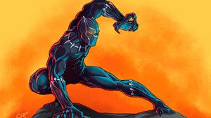 Black Panther Marvel Comics Marvel Comics 3840x2716 Wallpaper