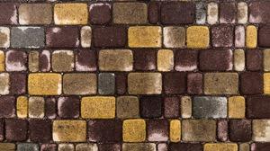 Abstract Geometry Pattern Bricks 3171x2250 Wallpaper