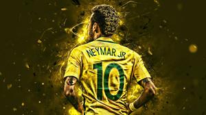 Brazil National Football Team Neymar Soccer 2880x1800 Wallpaper