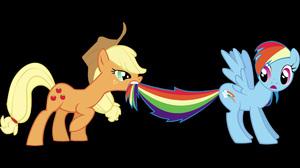 Applejack My Little Pony My Little Pony Rainbow Dash Vector 2560x1600 Wallpaper