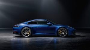 Blue Car Car Porsche Porsche 911 Porsche 911 Carrera Sport Car Vehicle 4917x2789 Wallpaper