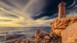 Man Made Lighthouse 2048x1336 Wallpaper
