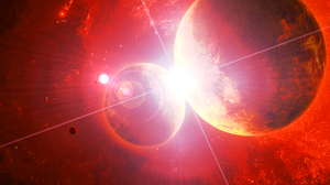 Space Planet Red 1920x1080 Wallpaper