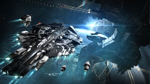 Eve Online Planet Space Spaceship 1920x1080 wallpaper