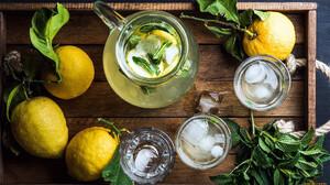 Food Fruit Lemons Leaves 1920x1080 Wallpaper