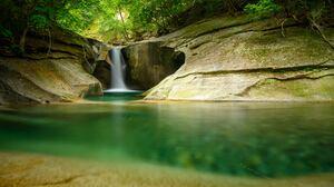 Nature Water Waterfall 6048x4024 Wallpaper