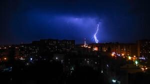 Lightning Night 4320x3240 Wallpaper