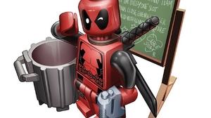 Deadpool Lego Marvel Comics 1280x960 Wallpaper