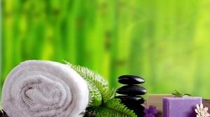 Soap Spa Stone Towel Zen 4538x3456 Wallpaper