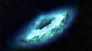 Blue Galaxy Space Stars 3840x2400 Wallpaper