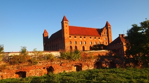Man Made Gniew Castle 1920x1080 Wallpaper
