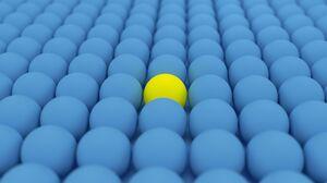 3D Sphere Balls Abstract CGi Render Digital Art 3D Abstract 3840x2160 Wallpaper