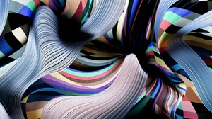 Colors Lines Stripes 3840x2160 wallpaper