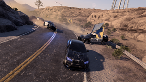 BMW Crash Police Cinematic Need For Speed Heat Wave 1920x1080 Wallpaper