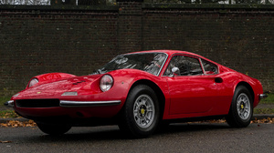 Car Coupe Dino 246 Gt Grand Tourer Old Car Red Car Sport Car 1920x1080 Wallpaper