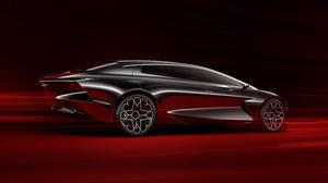 Aston Martin Lagonda Vision Concept Black Car Car Concept Car Coupe Sport Car 3000x2000 Wallpaper