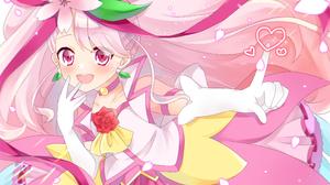 Pretty Cure Healin Good Precure Anime Girls 3624x2591 wallpaper