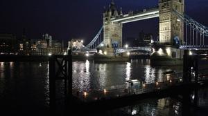 London Tower Bridge Night 3886x2590 Wallpaper