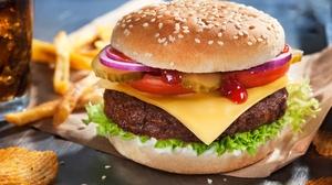 Food Burger 2200x1464 wallpaper