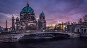 Berlin Berlin Cathedral Bridge Germany 4808x3000 wallpaper
