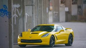 Chevrolet Corvette Chevrolet Car Sport Car Yellow Car 2048x1366 Wallpaper