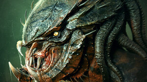 Marcus Whinney Artwork Creature Science Fiction Horror Fan Art Predator Creature 1074x1408 Wallpaper