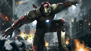 Iron Man Marvel Comics 4961x3508 wallpaper