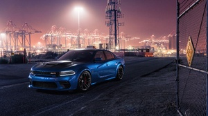 Blue Car Car Dodge Dodge Charger Dodge Charger Srt Dodge Charger Srt Hellcat Muscle Car Vehicle 1920x1280 Wallpaper