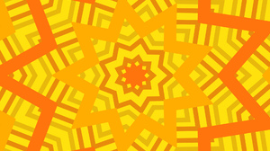 Artistic Colors Digital Art Kaleidoscope Pattern Shapes Star Orange Color 1920x1200 Wallpaper