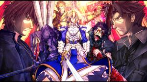 Archer Fate Zero Assassin Fate Zero Gilgamesh Fate Series Kirei Kotomine Kiritsugu Emiya Lancer Fate 2000x1200 Wallpaper