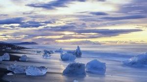 Sky Cloud Nature Ocean Horizon Ice 1920x1100 Wallpaper