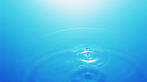 Earth Water Drop 2560x1600 Wallpaper