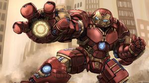 Hulkbuster Iron Man Marvel Comics 2894x1628 Wallpaper