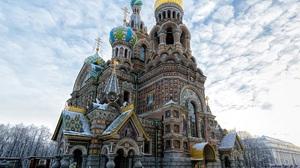 Church Russia Saint Petersburg 2048x1512 Wallpaper