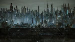 City Futuristic 1920x1080 wallpaper