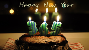 Cake Candle New Year 1920x1200 wallpaper