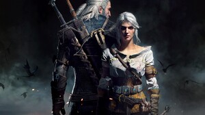 Ciri The Witcher Geralt Of Rivia The Witcher 3 Wild Hunt 10681x7874 Wallpaper