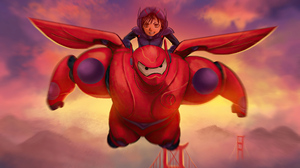 Big Hero 6 4000x2826 wallpaper