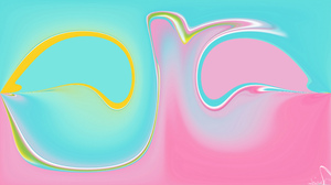 Abstract Artistic Colors Digital Art 3840x2160 wallpaper