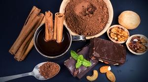 Chocolate Cinnamon Still Life 4000x2667 Wallpaper