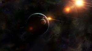 Planet Space 5120x2880 Wallpaper