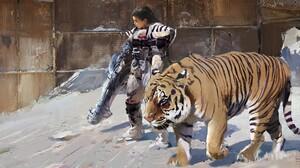 Tiger Woman 1920x1080 Wallpaper