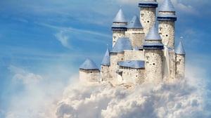 Fantasy Castle 3840x2963 wallpaper