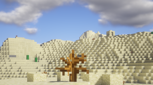 Cloud Desert Minecraft 4320x2700 Wallpaper
