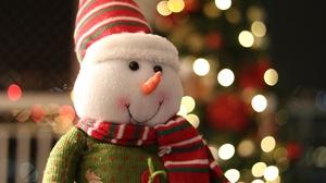 Toy Christmas 3840x2560 Wallpaper