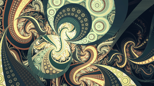 Abstract Fractal 2560x1440 Wallpaper