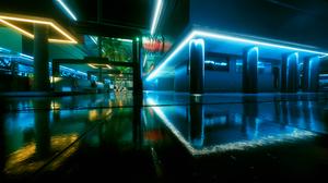 Cyberpunk CD Projekt RED Screen Shot Cyberpunk 2077 Video Game Art 2560x1440 wallpaper