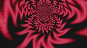 Artistic Digital Art Kaleidoscope Red 1920x1200 wallpaper