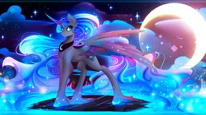 My Little Pony Princess Luna 3000x1500 Wallpaper